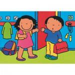 Puzzle  PuzzelMan-508 Noa : A l'école