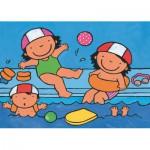Puzzle  PuzzelMan-598 Noa : A la piscine