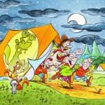 Puzzle  Puzzelman-815 Scouts & Squirrels - Le Cauchemar