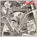 Puzzelman-830 Mini Puzzle - MC Escher - Relativity