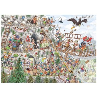Puzzle Puzzelman-875 Scouts & Squirrels - Dans les Montagnes