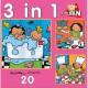 Noa : 3 puzzles en 1