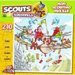 Puzzle   Scouts & Squirrels - Pont Suspendu