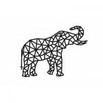 Eco-Wood-Art-80 Puzzle en Bois - Elephant