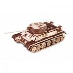 Eco-Wood-Art-82 Puzzle 3D en Bois - Tank T-34-85