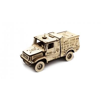 Eco-Wood-Art-96 Puzzle 3D en Bois - MAZ 6440RR