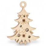 Puzzle 3D en Bois - Sapin de Noël