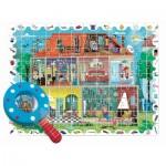 Puzzle  Ludattica-74822 Pièces XXL - Baby Détective - Maison