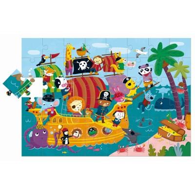 Puzzle Ludattica-74877 Pièces xXL - Pirates