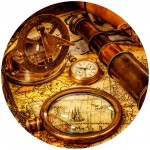 Grafika-Wood-00005 Puzzle en Bois - Vintage Travel