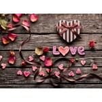 Grafika-Wood-00016 Puzzle en Bois - Love
