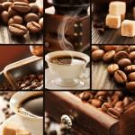 Grafika-Wood-00021 Puzzle en Bois - Collage Café