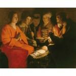 Puzzle  Puzzle-Michele-Wilson-A102-250 Georges De La Tour : L'adoration des bergers