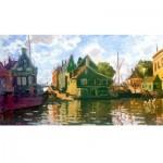 Puzzle-Michele-Wilson-A121-150 Puzzle en Bois - Claude Monet - Canal à Zaandam