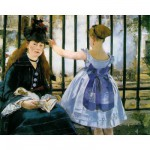 Puzzle  Puzzle-Michele-Wilson-A133-250 Manet : Le chemin de fer