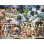 Puzzle  Puzzle-Michele-Wilson-A262-750 Gozzoli : Les Rois Mages
