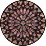 Puzzle  Puzzle-Michele-Wilson-A342-80 Rosace Notre Dame