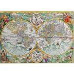 Puzzle  Puzzle-Michele-Wilson-A350-500 Carte du monde de 1594