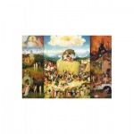 Puzzle  Puzzle-Michele-Wilson-A373-1500 Bosch : La Charrette de Foin