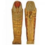 Puzzle-Michele-Wilson-A477-150 2 Puzzles en Bois - Art Egyptien - Sarcophage de Djedbastétiouefankh
