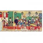 Puzzle-Michele-Wilson-A489-500 Puzzle en Bois - Utagawa - Shin Yoshiwara