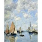 Puzzle  Puzzle-Michele-Wilson-A506-250 Eugène Boudin : La Jetée à Marée haute