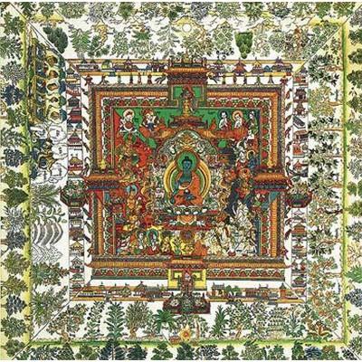 Puzzle Puzzle-Michele-Wilson-A513-500 Mandala de la Médecine : Art Tibétain