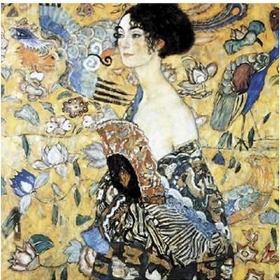 Puzzle Puzzle-Michele-Wilson-A515-350 Klimt  :  La dame à l'éventail
