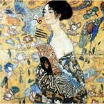Puzzle  Puzzle-Michele-Wilson-A515-900 Klimt : La dame à l`éventail