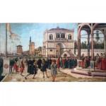 Puzzle-Michele-Wilson-A523-500 Puzzle en Bois - Vittore Carpaccio - Le Retour des Ambassadeurs