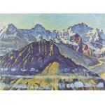 Puzzle-Michele-Wilson-A536-500 Puzzle en Bois - Ferdinand Hodler - Le Mont Eiger