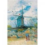 Puzzle  Puzzle-Michele-Wilson-A540-750 Vincent Van Gogh - Le Moulin de la Galette, 1886