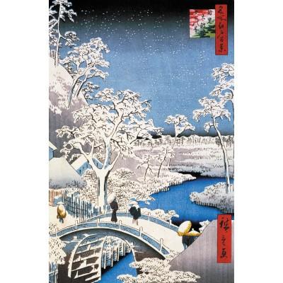 Puzzle Puzzle-Michele-Wilson-A566-250 Hiroshige : Le Pont à Meguro