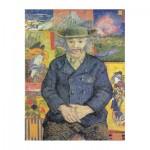 Puzzle  Puzzle-Michele-Wilson-A593-350 Van Gogh Vincent - Portrait du père Tanguy, 1887