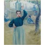 Puzzle  Puzzle-Michele-Wilson-A625-150 Adolfo Guiard - Villageoise à Oeillet Rouge
