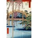 Puzzle-Michele-Wilson-A637-350 Puzzle en Bois - Hiroshige - Sanctuaire Kameido Tenjin