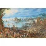 Puzzle  Puzzle-Michele-Wilson-A639-500 Brueghel Pieter - Le Marché aux Poissons, 1603