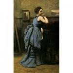 Puzzle  Puzzle-Michele-Wilson-A641-80 Jean-Baptiste Camille Corot - La Dame en Bleu