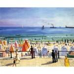 Puzzle-Michele-Wilson-A649-350 Puzzle en Bois - Albert Marquet - La Plage des Sables d'Olonne