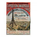 Puzzle-Michele-Wilson-A656-80 Puzzle en Bois - Exposition Universelle de Paris, 1889