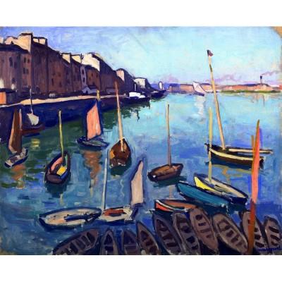 Puzzle-Michele-Wilson-A680-80 Puzzle en Bois - Albert Marquet - Le Port, Le Havre