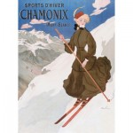 Puzzle-Michele-Wilson-A694-250 Puzzle en Bois - Chamonix, la Skieuse