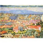Puzzle-Michele-Wilson-A698-500 Puzzle en Bois - Pierre Bonnard - Vue du Cannet, 1942