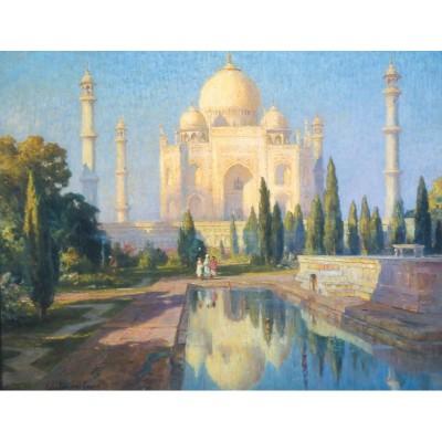 Puzzle-Michele-Wilson-A700-80 Puzzle en Bois découpé à la Main - Colin Campbell Cooper - Taj Mahal