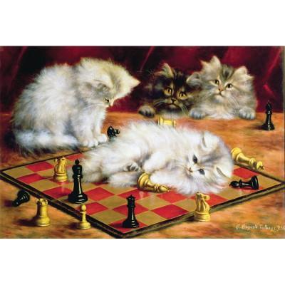 Puzzle Puzzle-Michele-Wilson-A968-250 Talboys : Les chats à l'échiquier