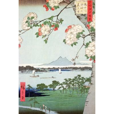 Puzzle Puzzle-Michele-Wilson-A974-150 Hiroshige : Pommiers en fleurs