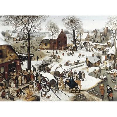 Puzzle Puzzle-Michele-Wilson-C58-1500 Brueghel  :  Le dénombrement de Bethléem