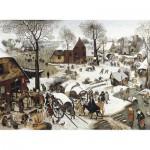 Puzzle  Puzzle-Michele-Wilson-C58-350 Brueghel  : Le dénombrement de Bethléem