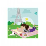 Puzzle-Michele-Wilson-Cuzzle-Z13 Puzzle en Bois - Collection Paris : Pique Nique à Paris