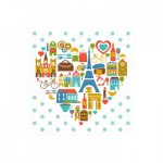 Puzzle-Michele-Wilson-Cuzzle-Z14 Puzzle en Bois - Collection Paris : Le Coeur de Paris